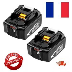 2X Batteries pour Makita BL1860B 18V 5.5Ah Lithium  BL1860 BL1850B BL1850 BL1840