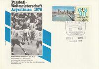 ARGENTINA 3 JUNE 1978 78 WORLD CUP SWEDEN v BRAZIL FOOTBALL COVER