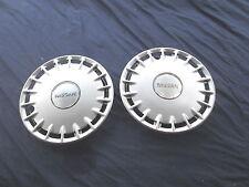 "Nissan 14"" Hubcaps Hub Cap Set of 2  Excellent Condition"
