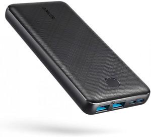 Anker PowerCore Essential 20000 - Batterie Externe 20000 mAh 2 Ports USB Noir