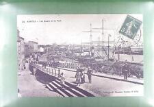 CPA France 1916 Nantes Schiffe Ship Boat Sail Nave Marine Statek Port s14