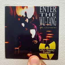 "Wu Tang Clan Enter The Wu Tang 36 Chambers 3"" x 3"" EP LP Album Cover Sticker"