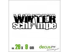 WINTERSCHLAMPE XL 2561 // Sticker JDM Aufkleber Frontscheibe