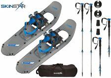SKINSTAR Schneeschuh 25 INCH Schneeschuhwandern bis 100 kg mit Tourenski Stock