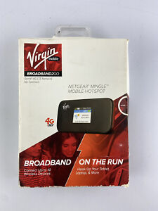 NETGEAR NTGR778AVB Virgin Mobile Mingle Sprint 3G/4G LTE Network Mobile Hotspot