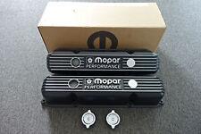Mopar Performance 361,383,400,440 V8 Big Block Black Cast Aluminum Valve Covers