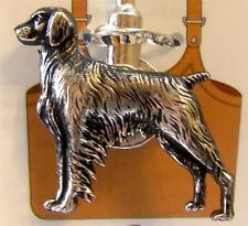 Brittany Spaniel Dog Animal Silver Charm Purse/Backpack Key Finder Ring
