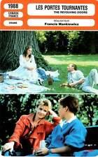 FICHE CINEMA : LES PORTES TOURNANTES - Spaziani,Arcand 1988 The Revolving Doors
