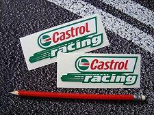 CASTROL OIL Classic Racing Stickers Motorcycle / Car F1 lemans  Moto gp BTCC