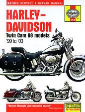 NEW HAYNES MANUAL HARLEY DAVIDSON FXST 1584 SOFTAIL STANDARD 2007