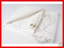 Bache ultra lourde PVC blanche 5 x 8 m de protection REF 2980