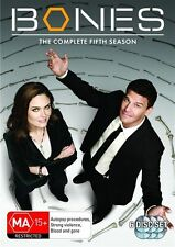 Bones Season 5 (6 x DVD), New and Region 4