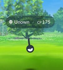 Pokemon Go Trade Unown ! (Read Description) Exclamation Mark