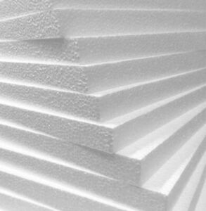 10mm thick packing polystyrene Sheets 300mm x 600mm 20 off