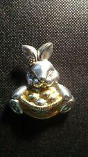 Best Bunny Brooch Or Scarf Clasp! Cc914Uxx