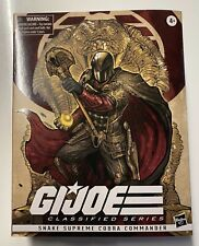 "G.I. JOE Classified Snake Supreme Cobra Commander 6"" Figure HASBRO NEU OVP NEW"
