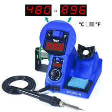 8-in-1 PCB/ SMD/ SMT Rework Station Hot Air Gun Soldering Iron DC Power Supply