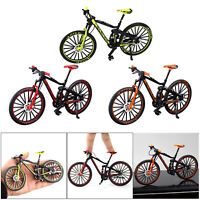 1/10 Mini Bicycle Model Mountain Bike Finger Bike Living Room Decor Crafts