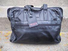 Vintage Tumi Napa Leather Laptop Computer Messenger Cross Body Shoulder Bag Pack