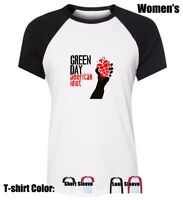 GREEN DAY American Idiot Graphic Tees Womens Ladies Girl's Cotton T-Shirt Tops