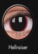 Crazy Contact Lenses Lentilles Kontaktlinsen Fun Halloween Hellraiser Devil eyes