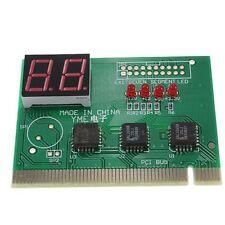 Diagnostic 2-Digit Card Motherboard Post Tester Analyzer Checker Laptop PCI PC
