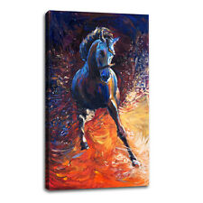 Modern Canvas Wall Art Print Abstract Horse Painting Home Decor Picture Unframed