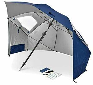 Sport-Brella UPF50+ Portable Umbrella Shelter for Sun and Rain Protection 8 Foot