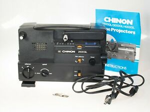 Vintage Chinon 2500 GL Cine Movie Projector 8mm
