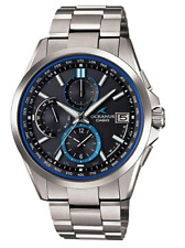 Brand New CASIO OCW-T2600-1AJF Watch OCEANUS World Six Stations Radio Waves