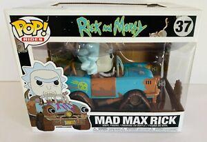 RICK AND MORTY Mad Max Rick #37 Funko Pop Vinyl Rides Figure FREE POST