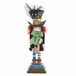 Hollywood Mad Hatter Wooden Christmas Nutcracker 18 Inch HA0381 New