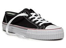 PF Flyers Sneakers Center Lo Reissue MC1002BK Black White Canvas