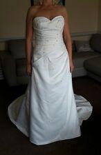 Robe de mariage Taille 10-12 Phil Collins Mariée Ivoire