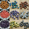 Wholesale Lot  Loose Beads 40pcs 4mm Natural Stone Gemstone Round Bead DIY Gifts