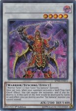 Yugioh-1x-Near Mint-Legendary Six Samurai - Shi En - SPWA-EN011 - Secret Rare -