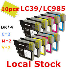10X LC985 LC39 LC 985 ink Cartridge for Brother MFC J528W J410 J415W J615W J220