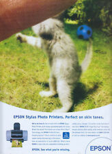 Epson stylus Photo Printer 2001 Magazine Advert #1233