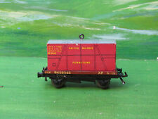 Hornby Dublo 13T Flatbed wagon with Furniture Container - OO gauge