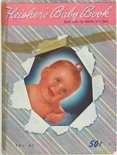 Vintage Fleisher's Baby Book Hand Knits for Infants to 4 Yrs Vol. 87