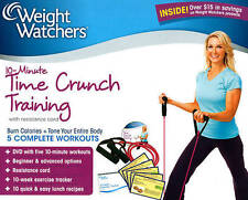 Weight Watchers 10-Minute Time Crunch Training DVD With Resistance Cord Sealed