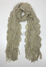 Bulk Lots 12x Ladies Warm Winter Soft Knit long Scarf -7 Colours Assorted G6317