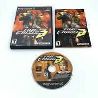 Time Crisis 3 (Sony Playstation 2 PS2) Complete With Manual CIB