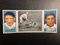 1912 Hassan Triple Folders T202 #123 Too Late John Meyers Leon Ames G-G+