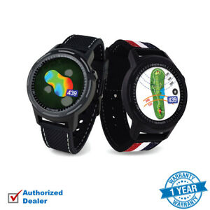 NEW Golf Buddy AIM W10 Smart Watch GPS, Touch Screen 40,000 Courses - Extra Band
