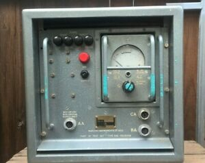 Vintage Marconi Power Unit Type 841 - Voltmeter Part Of Test Set 386 10S/16356