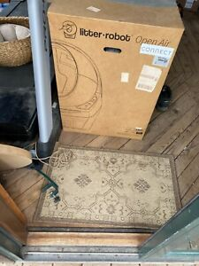 Litter-Robot Open Air Connect Self Cleaning Wifi Enabled Litter Box-- NEW IN BOX