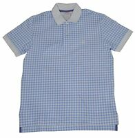 New Brooks Brothers Mens Original Fit Large Blue White Polo Shirt 3793-3