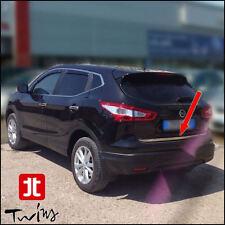 Striscia cromata portellone Nissan Qashqai 2014 profilo baule cromato
