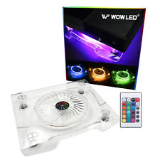USB RGB LED Cooler Cooling Fan with Wireless IR Remote For PS4  XBOX Laptop